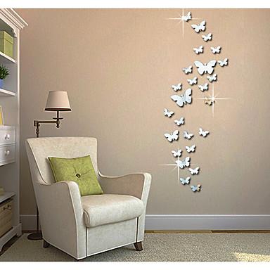 Abstract Animale #D Perete Postituri Autocolante perete plane 3D Acțibilduri de Perete Acțibilduri de Oglindă Autocolante de Perete