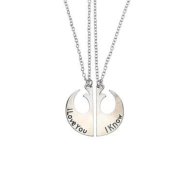 Heren Dames Geometrische vorm Gepersonaliseerde Religieuze sieraden Luxe Uniek ontwerp Natuur Modieus zijdelings Euramerican Movie Jewelry