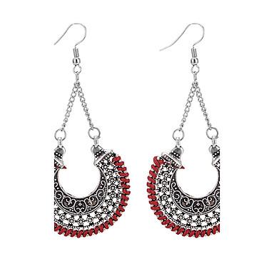 Dames Druppel oorbellen Modieus Vintage Euramerican Legering Geometrische vorm Sieraden Voor Dagelijks