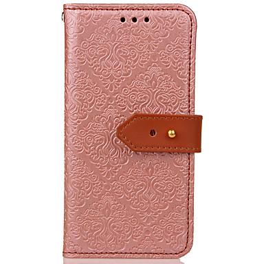 Maska Pentru Samsung Galaxy S8 Plus S8 Titluar Card Portofel Cu Stand Întoarce Embosat Model Corp Plin Floare Greu PU Piele pentru S8 S8
