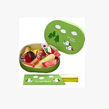 3D-puzzels Speelgoedeten Speeltjes Vierkant Voedsel Kindveilig levensecht Hard Kaart Paper Niet gespecificeerd Stuks