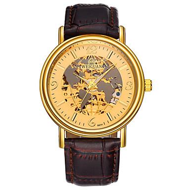 Bărbați Ceas Elegant Ceas La Modă Quartz Oțel inoxidabil Bandă Negru Argint Maro Auriu