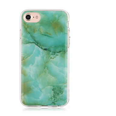 Hülle Für Apple iPhone 7 Plus iPhone 7 IMD Muster Rückseite Marmor Weich TPU für iPhone 7 Plus iPhone 7 iPhone 6s Plus iPhone 6s iPhone 6
