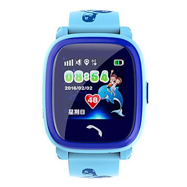 Heren Slim horloge Digitaal Silicone Band Blauw Paars
