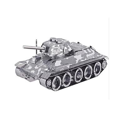 Holzpuzzle Metallpuzzle Panzer Flugzeug 3D Einrichtungsartikel Heimwerken Edelstahl Metal Unisex Geschenk