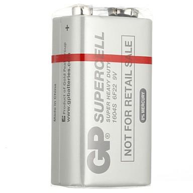 gp 1604s 9V niet-oplaadbare batterijen