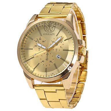 Dames Modieus horloge Polshorloge Unieke creatieve horloge Vrijetijdshorloge Sporthorloge Militair horloge Kwarts Kalender Roestvrij staal