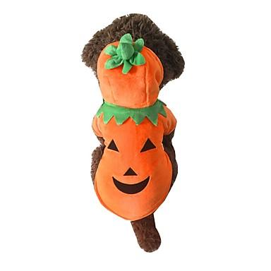 Hond kostuums Hondenkleding Cosplay Pompoen Oranje