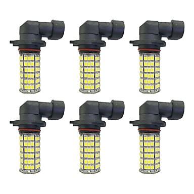 4w 9005 9006 h8 h11 120smd2835 Scheinwerfer / Nebelscheinwerfer Lampe für Auto weiß dc12v 6pcs