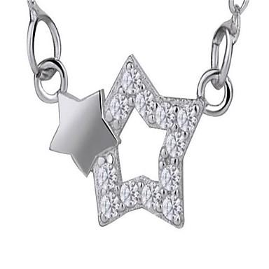 للمرأة قلائد الحلي مجوهرات Geometric Shape سبيكة موضة شخصية المتضخم مجوهرات من أجل زفاف حزب عيد ميلاد حفلة ليلية