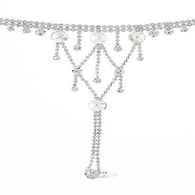 Pentru femei Brățări cu Talismane Ring Bracelets Ștras Bikini La modă Multistratificat Bling bling Ștras Aliaj Picătură Bijuterii Pentru