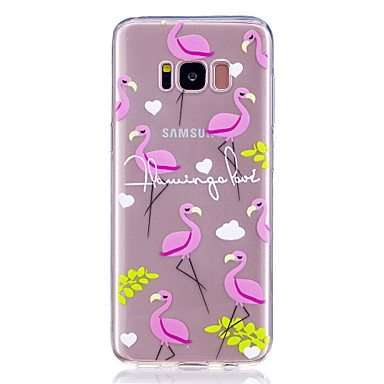غطاء من أجل Samsung Galaxy S8 Plus S8 شفاف نموذج غطاء خلفي البشروس طائر مائي ناعم TPU إلى S8 S8 Plus S7 edge S7