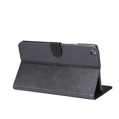 Maska Pentru Huawei Carcasă Telefon Cazuri pentru tablete Mată Greu PU piele pentru
