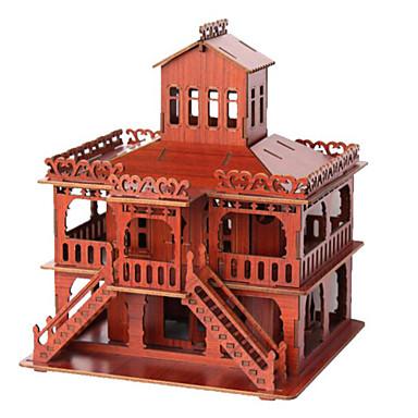 3D - Puzzle Holzpuzzle Berühmte Gebäude Haus Architektur 3D Holz Naturholz Jungen Unisex Geschenk
