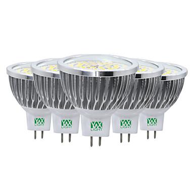 ywxlight® 7w condus lumina reflectoarelor mr16 48 smd 2835 600-700 lm cald alb rece alb natural natural alb decorativ ac / dc 12 v