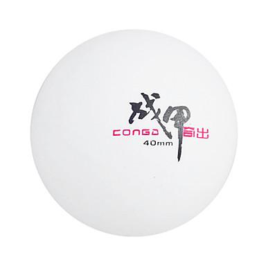 1kpl 3 Tähteä Ping Pang / Pöytätennis Ball Muovi Alhainen ilmanvastus Korkea kestävyys Kestävä Erittäin elastinen