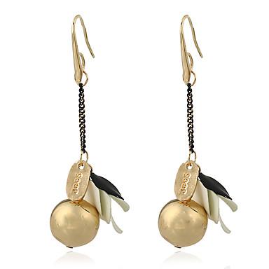 Pentru femei Cercei Picătură Cercei Rotunzi  La modă Personalizat Stâncă stil minimalist Clasic Bling bling costum de bijuterii Aliaj