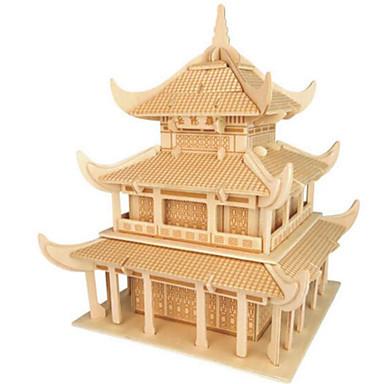 3D - Puzzle Holzpuzzle Holzmodell Spielzeuge Berühmte Gebäude Architektur 3D Heimwerken Holz Naturholz Unisex Stücke