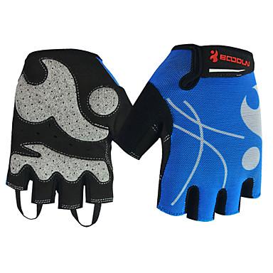 BOODUN/SIDEBIKE® Rękawiczki sportowe Rękawiczki rowerowe Zdatny do noszenia Wearproof Ochronne Bez palców Mesh Kolarstwo / Rower Dla obu