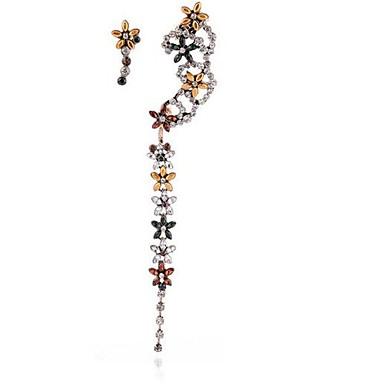 Pentru femei Cercei Stud Ștras La modă Personalizat Nepotrivirea Aliaj Flower Shape Bijuterii Pentru Petrecere Alte Serată