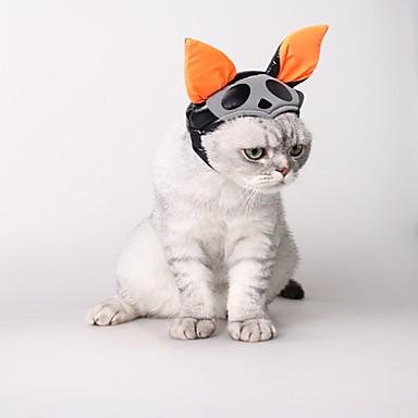 Pisici Câine Costume Accesorii Păr Îmbrăcăminte Câini Cosplay Halloween Solid Costume Pentru animale de companie