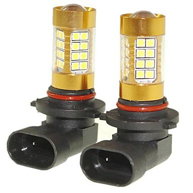 Недорогие Фары для мотоциклов-SENCART 2pcs 9005 Автомобиль Лампы 36W SMD 3030 1500-1800lm Светодиодные лампы Противотуманные фары