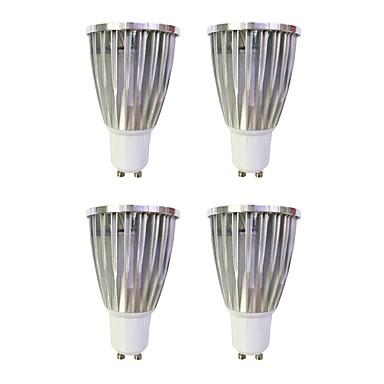 6W 480 lm GU10 LED Spot Lampen MR16 1 Leds COB Abblendbar Warmes Weiß Weiß 110-120