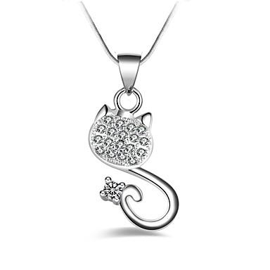 Pentru femei Animal Clasic Modă Coliere cu Pandativ Diamant sintetic Aliaj Coliere cu Pandativ . Petrecere Zilnic Serată Scenă