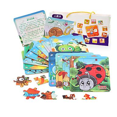 Puzzle Puzzle Lemn Jucării Educaționale Jucarii Pui MOON Other Fruct Lemn Unisex Bucăți
