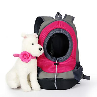قط كلب الحاملة حقائب تحمل على الظهر وللسفر حيوانات أليفة سلال لون سادة المحمول متنفس أخضر أزرق زهري للحيوانات الأليفة