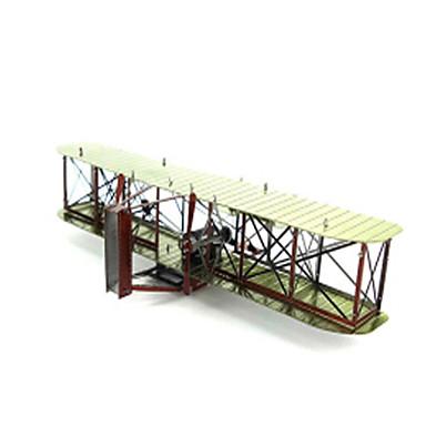 DHZ-kit Legpuzzel Metalen puzzels Speeltjes Vliegtuig Vechter 3D DHZ Inrichting artikelen Niet gespecificeerd Stuks