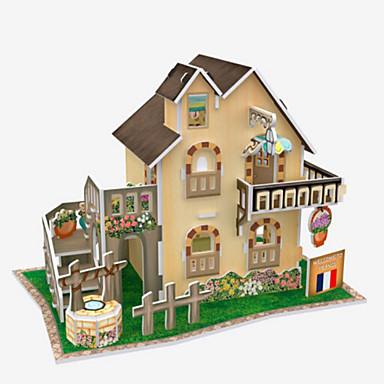 Puzzle 3D Puzzle Modelul de hârtie Clădire celebru Arhitectură 3D Articole de mobilier Reparații Lemn natural Unisex Cadou