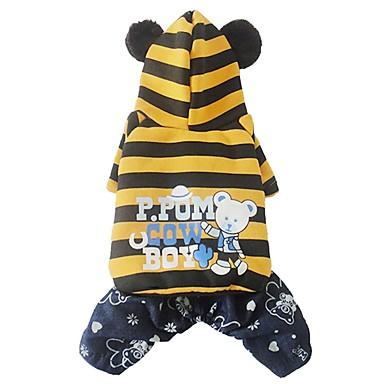 Hund Kostüme Hundekleidung Cosplay Bär Gelb