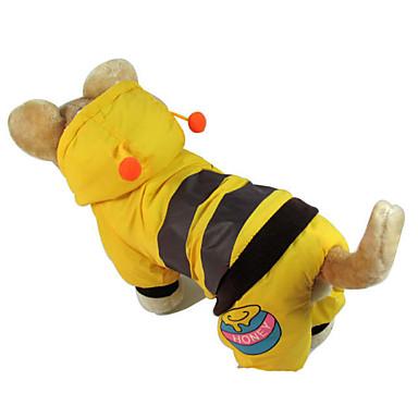 Câine Haine Îmbrăcăminte Câini Modă Dungi Galben