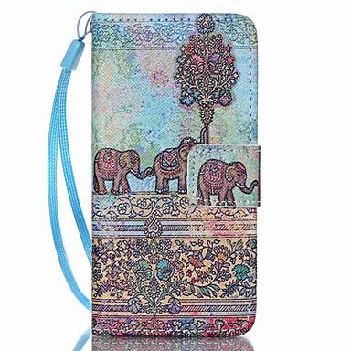 Carcasă pentru Apple ipod touch 5 touch 6 carcasă capac acoperă portofel portofel cu stand flip model plin corp carcasă elephant hard