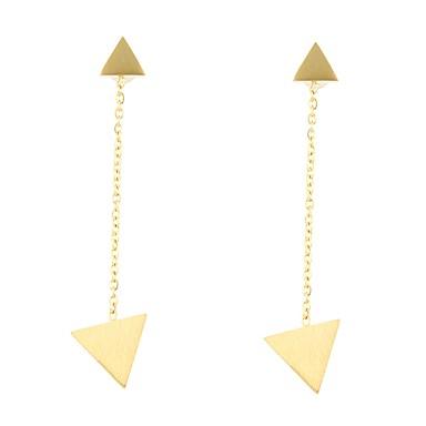 Pentru femei Cercei Picătură Bijuterii La modă Stil Punk Hip-Hop Gotic bijuterii de lux Auriu Aliaj Geometric Shape Bijuterii Pentru
