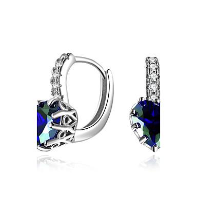 Pentru femei Cercei cu Clip Zirconiu Cubic Diamant sintetic Natură Hip-Hop Multi-moduri Wear bijuterii de lux Chrismas Zirconiu Smarald