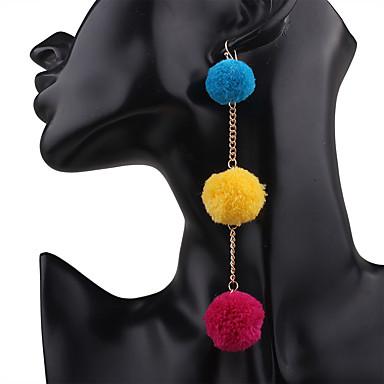 للمرأة أقراط الزر أقراط قطرة مخصص قديم بوهيميان راتينج سبيكة مجوهرات نادي شارع مواعدة مجوهرات