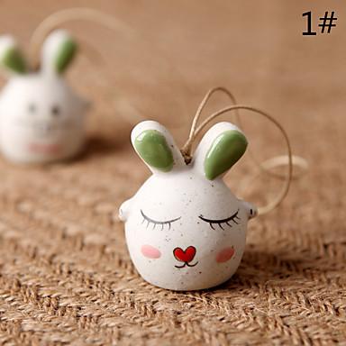 Tas / telefoon / sleutelhanger charme konijn cartoon speelgoed keramiek
