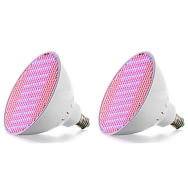 18W 2500 lm E27 تزايد المصابيح الكهربائية 500 الأضواء SMD 2835 أزرق أحمر أس 85-265V