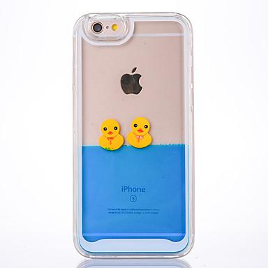 Hülle Für Apple Mit Flüssigkeit befüllt Rückseite Cartoon Design Hart PC für iPhone 6s Plus iPhone 6s iPhone 6 Plus iPhone 6 iPhone SE/5s