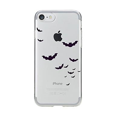 Pentru iPhone 7 iPhone 7 Plus Carcase Huse Transparent Model Carcasă Spate Maska Animal Moale TPU pentru Apple iPhone 7 Plus iPhone 7