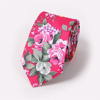 billige Herrers Mode Beklædning-Herre Slips Slips Trykt mønster, Blomstret
