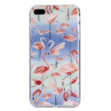 Für Apfel iphone 7plus 7 Telefon Fall tpu Material Flamingo Serie Telefon Fall 6s plus 6plus 6s 6 se 5s 5