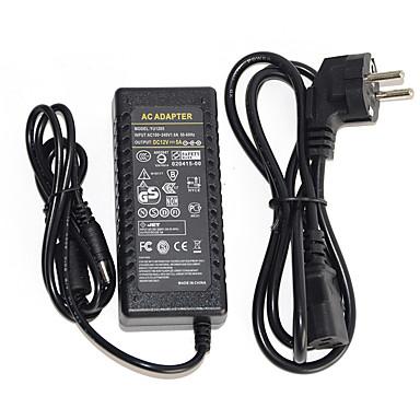 Недорогие LED аксессуары-1шт 12 V Газонокосилка / US / EU Источники питания / Адаптер питания для светодиодной полосы света
