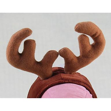Hond kostuums Haaraccessoires Hondenkleding Cosplay Kerstmis Effen Kostuum Voor huisdieren