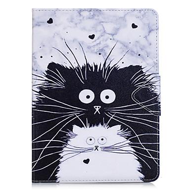 Caz pentru Samsung Galaxy t280 t580 caz acoperă pisica model pu materiale triplu comprimat caz caz caz telefon