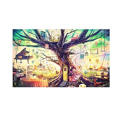 Holzpuzzle Haus Hölzern Anime Unisex Geschenk