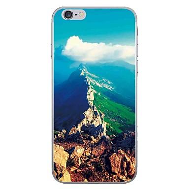 Fall für Apfel iphone 7 7 plus Fallabdeckung natürliches Landschaftsmuster hd gemaltes dickeres tummi Material weicher Falltelefonkasten