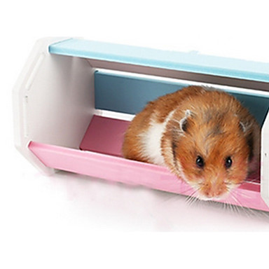 Hamster Siliconen Speelgoed Regenboog